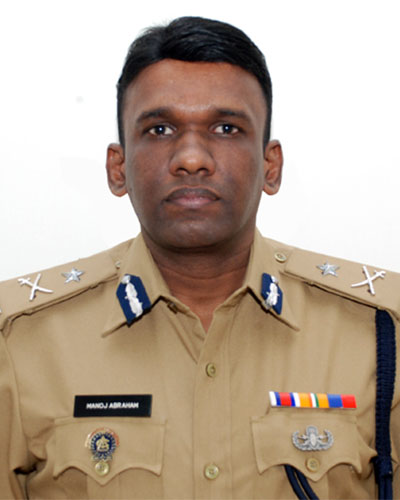 Manoj Abraham, Additional Director General of Police, Kerala Police